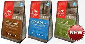 Freeze-Dried Dog Foods from Orijen
