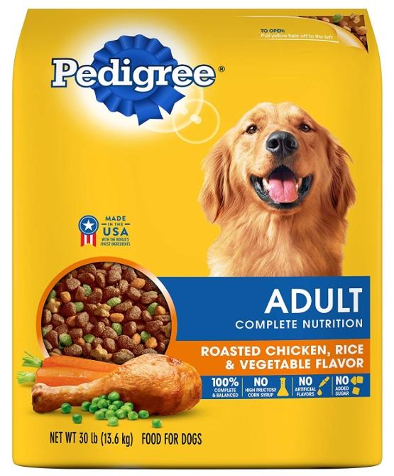 best affordable dog food Pedigree Complete Nutrition Adult Dry Dog Food